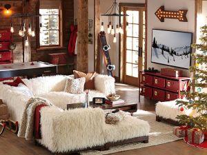 Pottery Barn Lounge