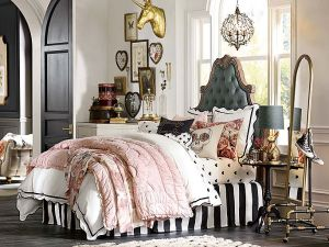 Equestrian Parisian PB Teen Bedroom