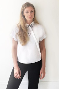 Matilda Kahl in her self imposed work uniform