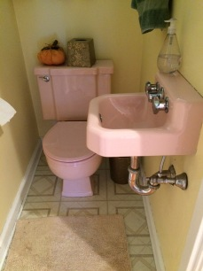 BEFORE powder room