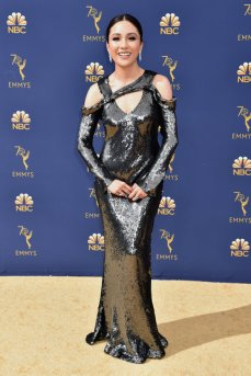 LOS ANGELES, CA - SEPTEMBER 17: Constance Wu attends the 70th Emmy Awards at Microsoft Theater on September 17, 2018 in Los Angeles, California. (Photo by Jeff Kravitz/FilmMagic)