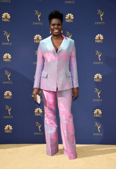 LOS ANGELES, CA - SEPTEMBER 17: Leslie Jones attends the 70th Emmy Awards at Microsoft Theater on September 17, 2018 in Los Angeles, California. (Photo by Kevin Mazur/Getty Images)