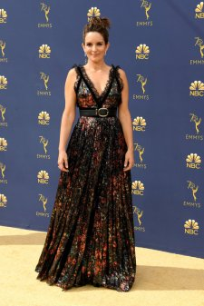 LOS ANGELES, CA - SEPTEMBER 17: Tina Fey attends the 70th Emmy Awards at Microsoft Theater on September 17, 2018 in Los Angeles, California. (Photo by Steve Granitz/WireImage,)