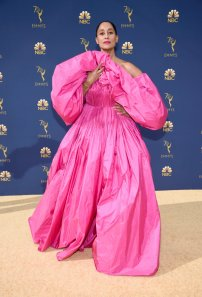 LOS ANGELES, CA - SEPTEMBER 17: Tracee Ellis Ross attends the 70th Emmy Awards at Microsoft Theater on September 17, 2018 in Los Angeles, California. (Photo by Kevin Mazur/Getty Images)